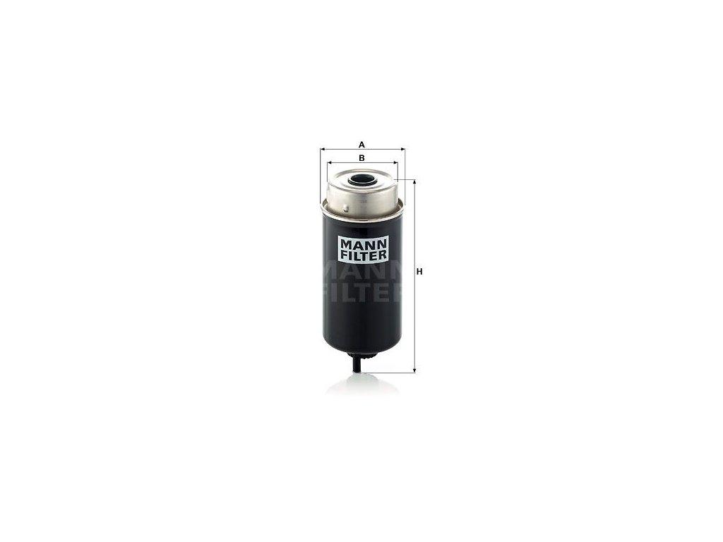 Palivový filtr MANN-FILTER WK 8172