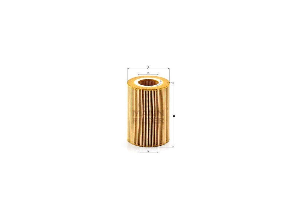 Olejový filtr MANN-FILTER HU 1270 x