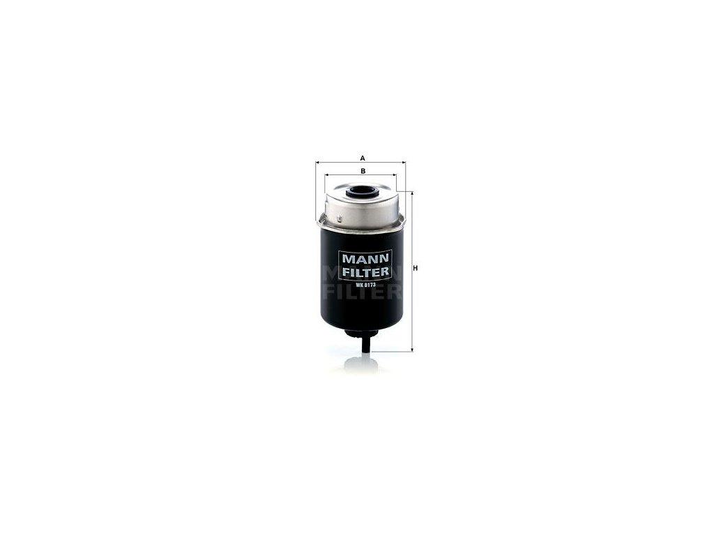 Palivový filtr MANN-FILTER WK 8173