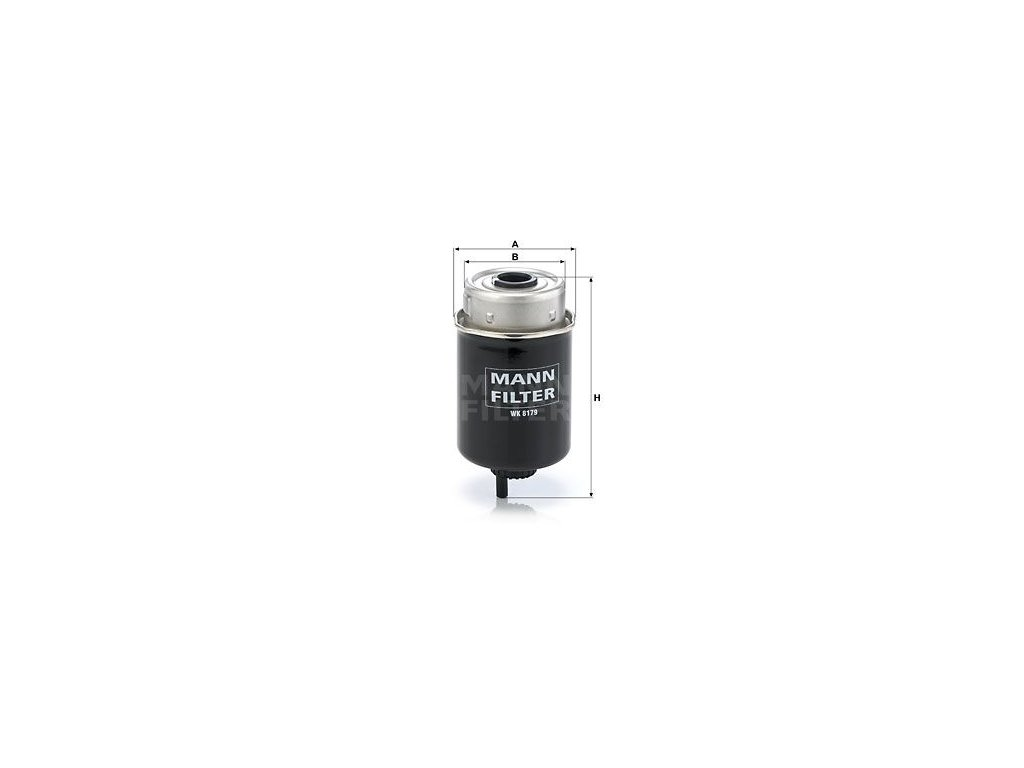 Palivový filtr MANN-FILTER WK 8179