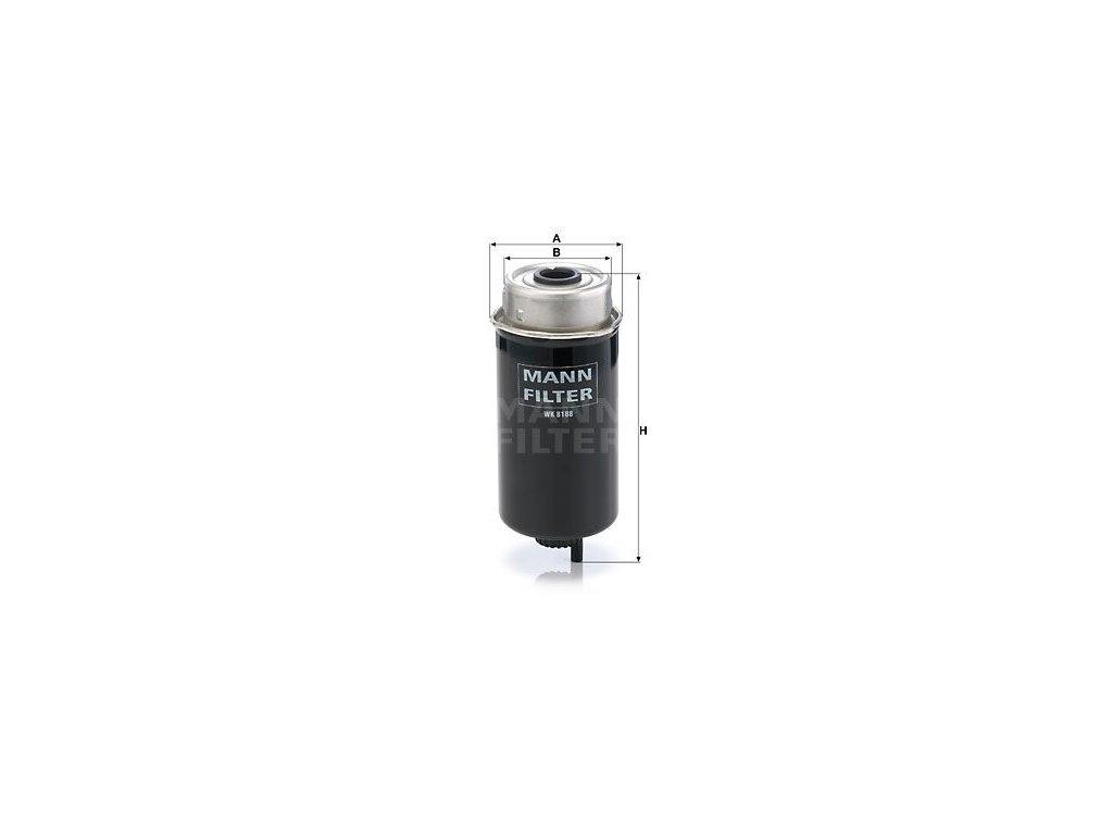 Palivový filtr MANN-FILTER WK 8188
