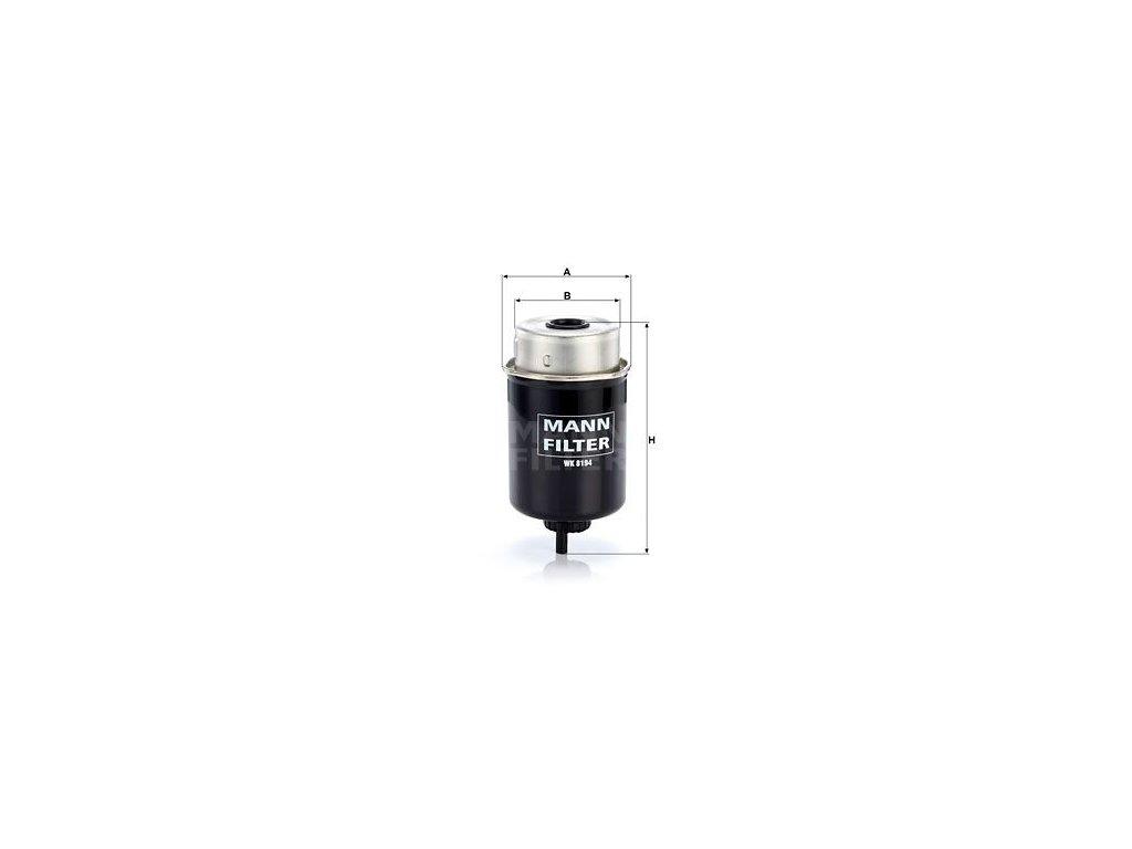 Palivový filtr MANN-FILTER WK 8194