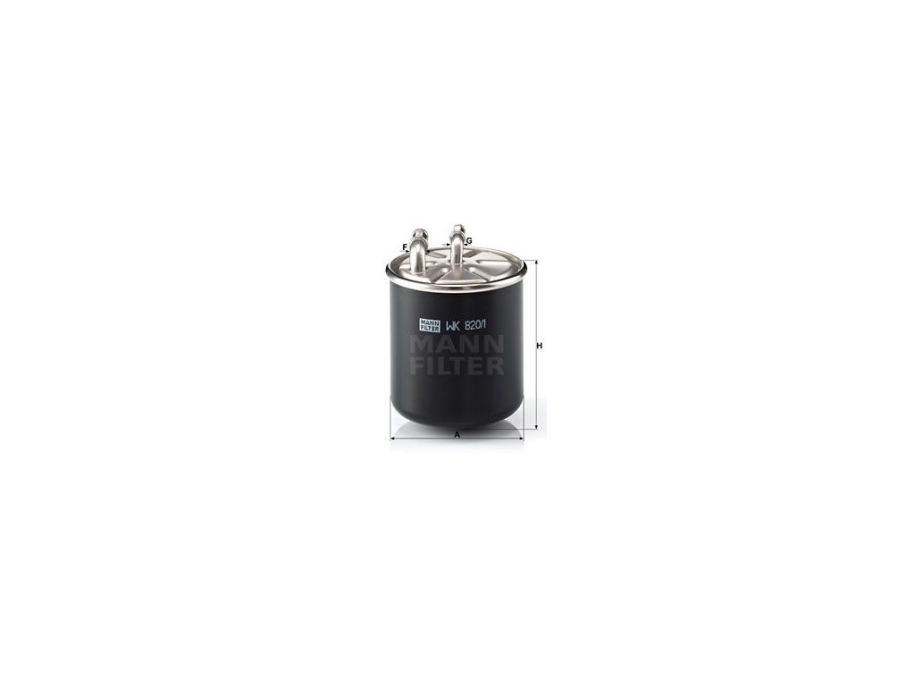 Palivový filtr MANN-FILTER WK 820/1