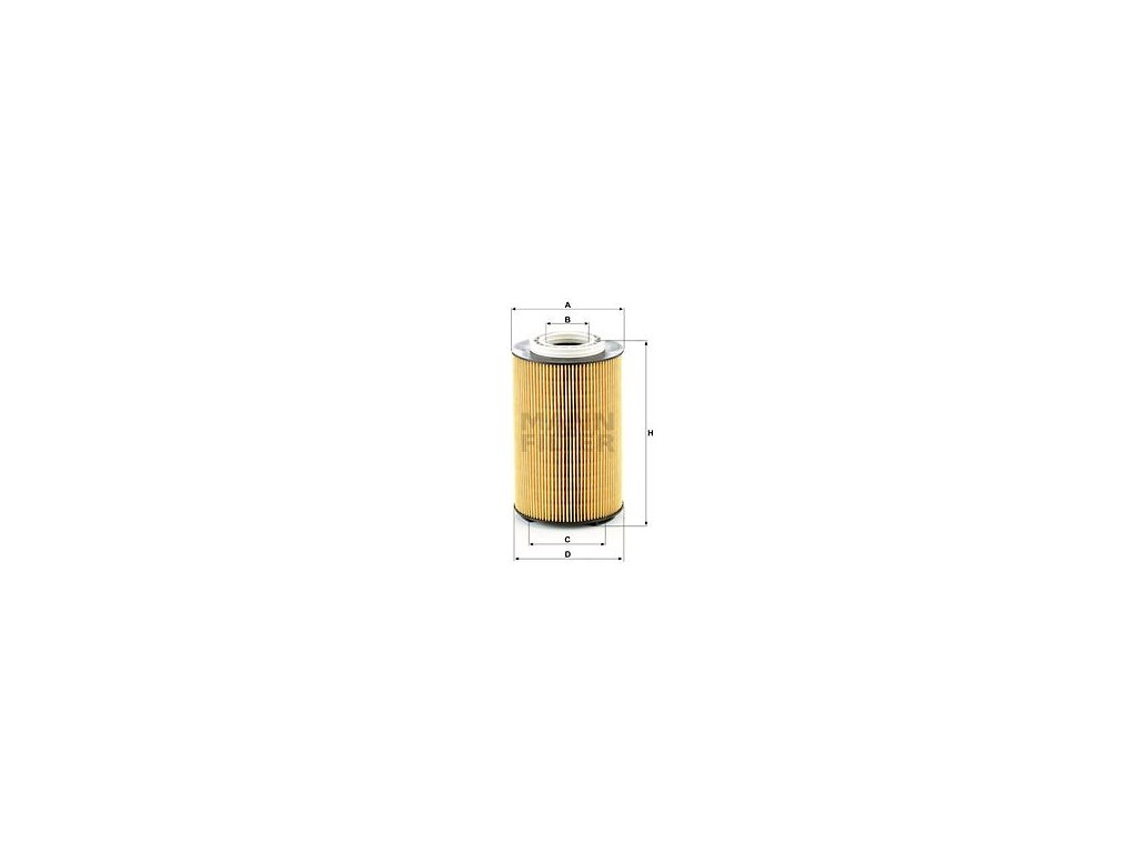 Olejový filtr MANN-FILTER HU 1291/1 z