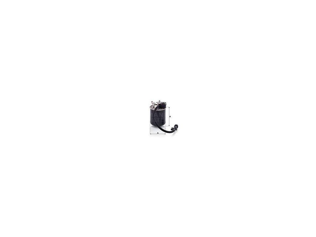 Palivový filtr MANN-FILTER WK 820/18