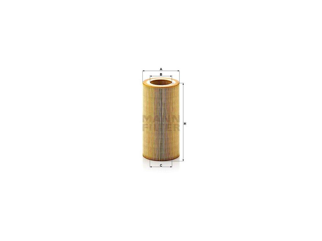 Olejový filtr MANN-FILTER HU 1297 x