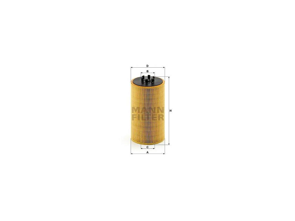 Olejový filtr MANN-FILTER HU 13 125 x