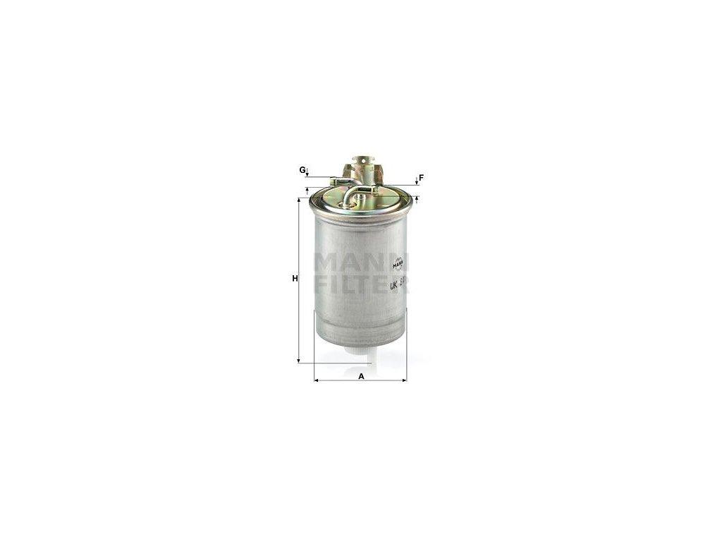 Palivový filtr MANN-FILTER WK 841