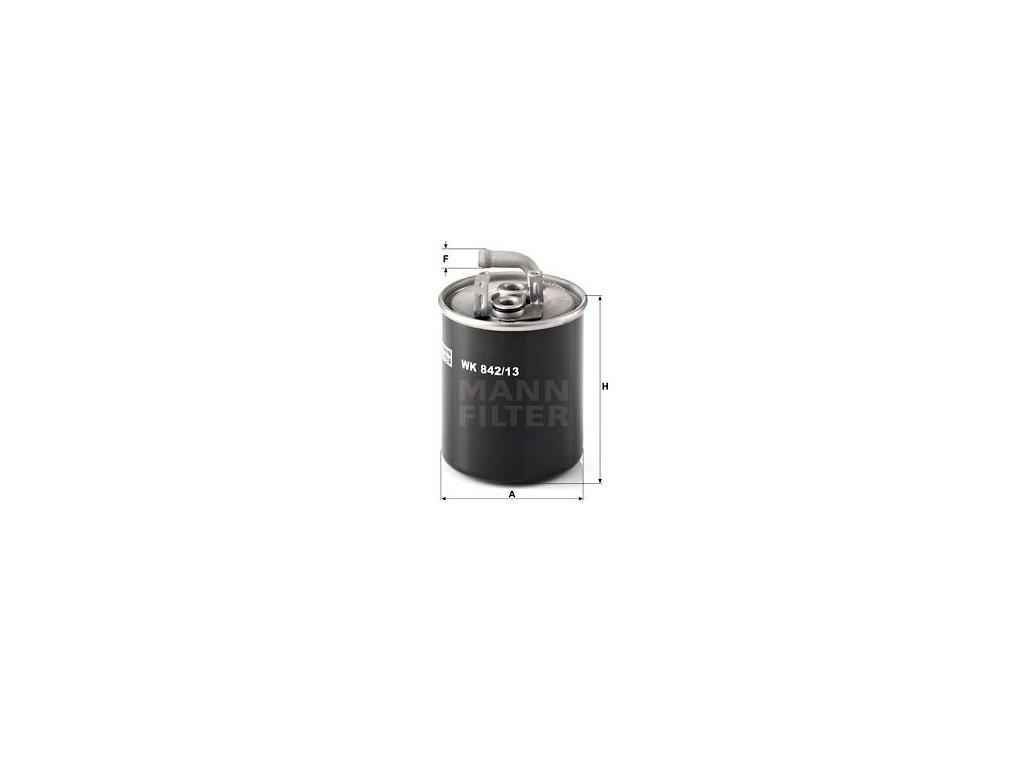 Palivový filtr MANN-FILTER WK 842/13
