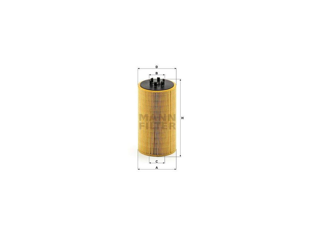 Olejový filtr MANN-FILTER HU 1390 x
