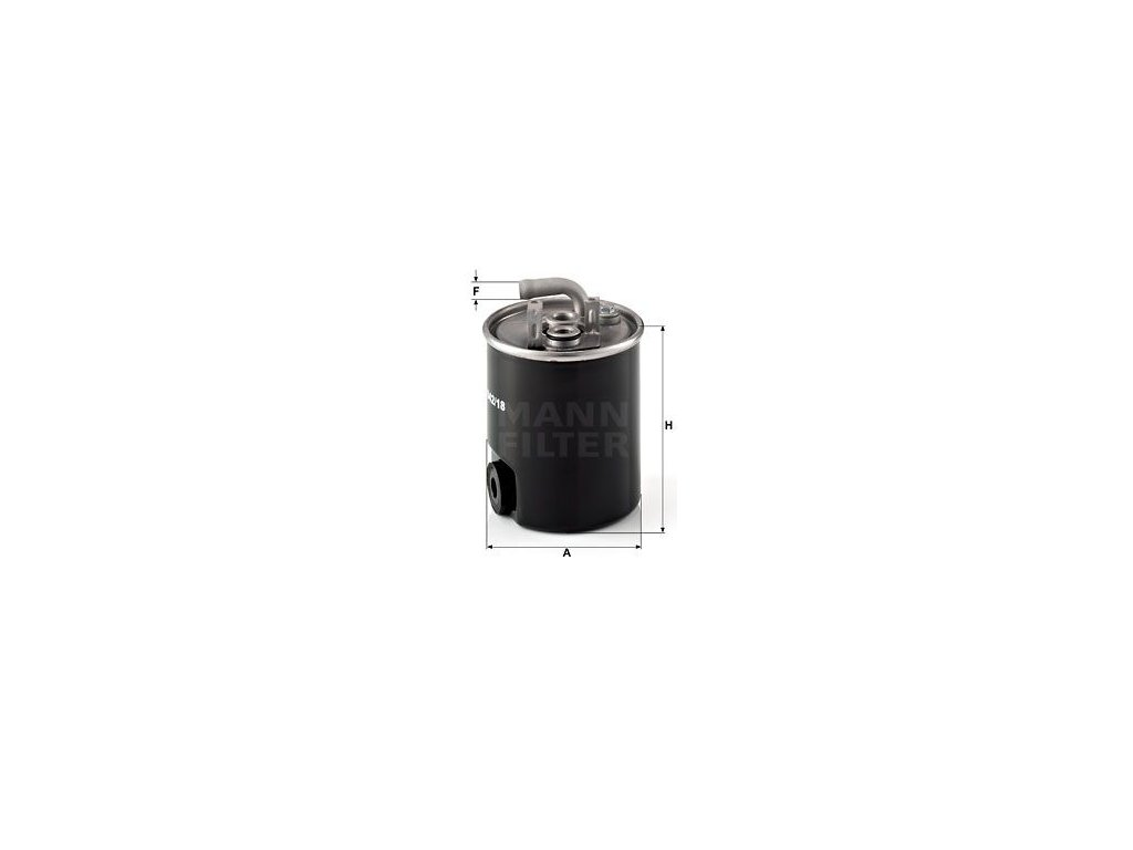 Palivový filtr MANN-FILTER WK 842/18