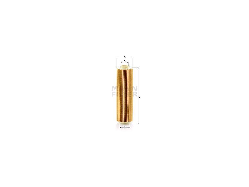 Olejový filtr MANN-FILTER HU 514 y