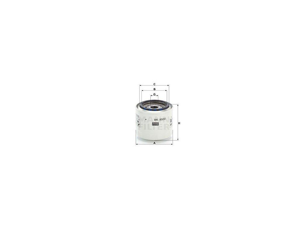 Palivový filtr MANN-FILTER WK 8500