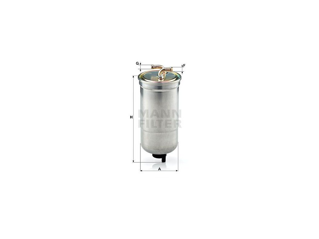 Palivový filtr MANN-FILTER WK 853/16