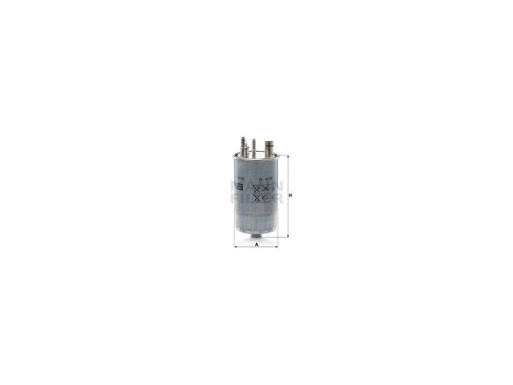 Palivový filtr MANN-FILTER WK 853/20