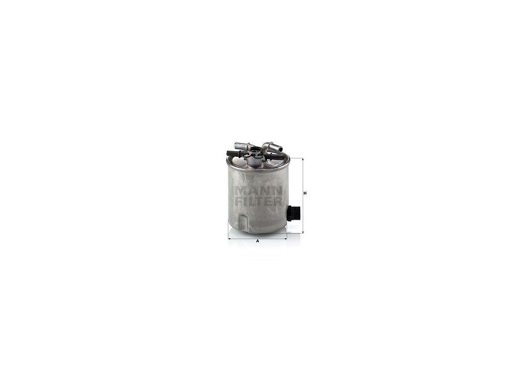 Palivový filtr MANN-FILTER WK 9007