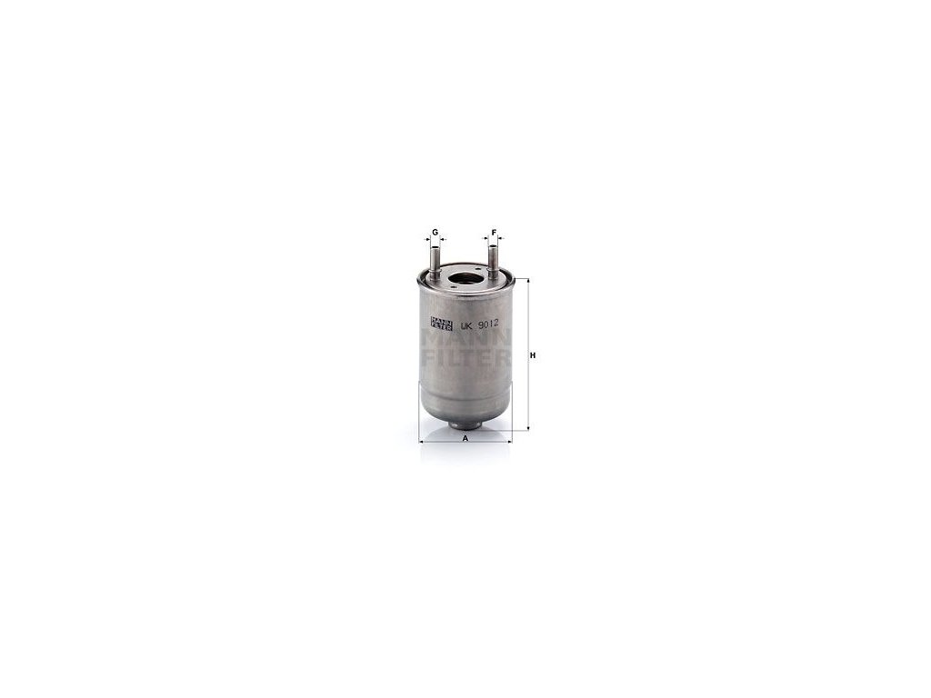 Palivový filtr MANN-FILTER WK 9012 x