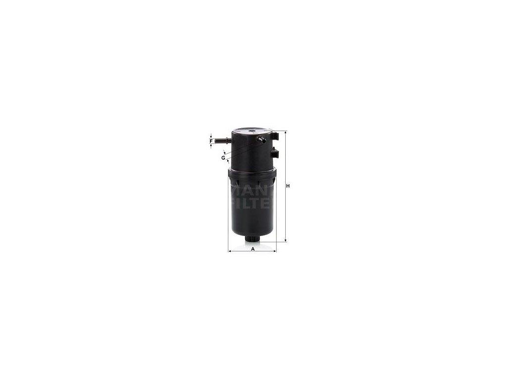 Palivový filtr MANN-FILTER WK 9016