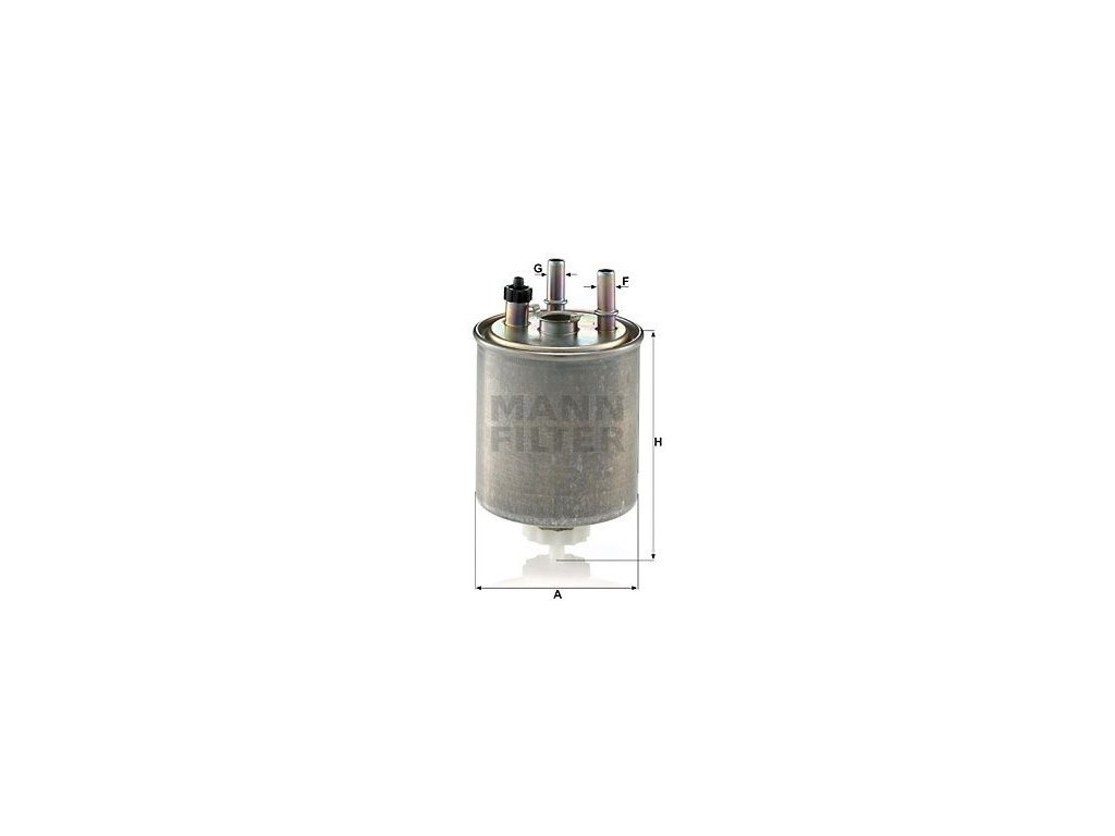 Palivový filtr MANN-FILTER WK 9022