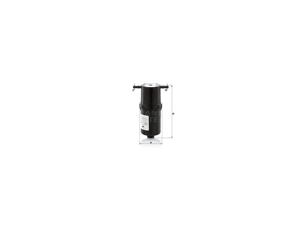 Palivový filtr MANN-FILTER WK 9024