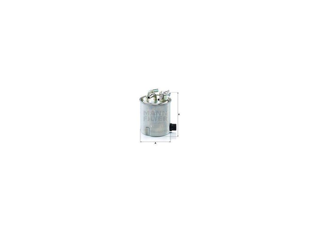 Palivový filtr MANN-FILTER WK 9025