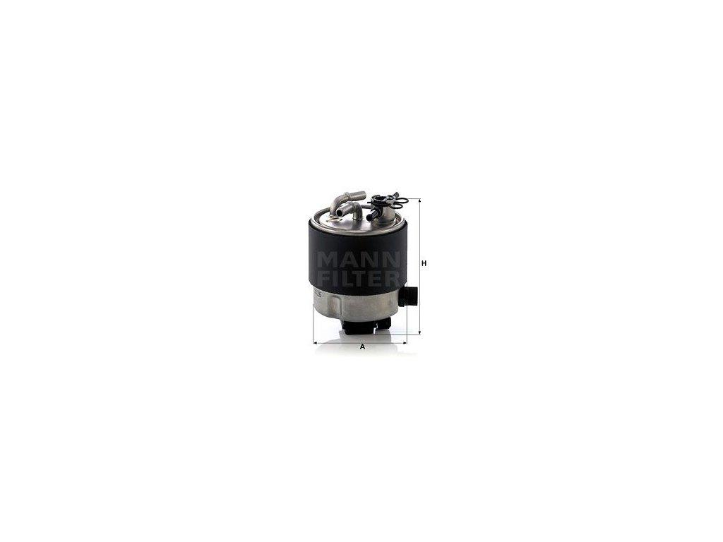 Palivový filtr MANN-FILTER WK 9026