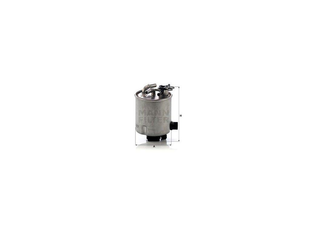Palivový filtr MANN-FILTER WK 9027