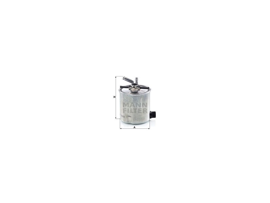 Palivový filtr MANN-FILTER WK 9043