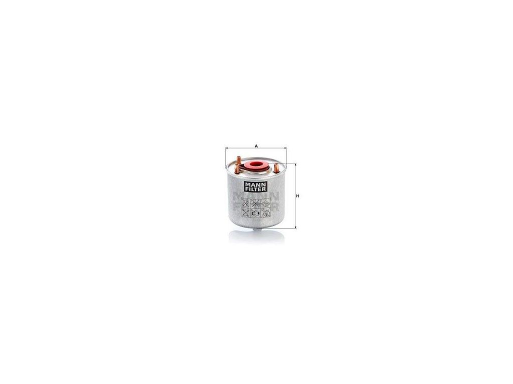 Palivový filtr MANN-FILTER WK 9046 z