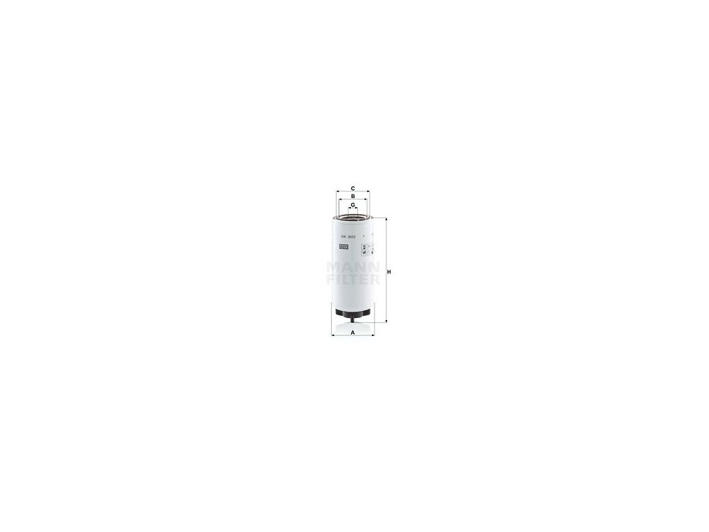 Palivový filtr MANN-FILTER WK 9052 x