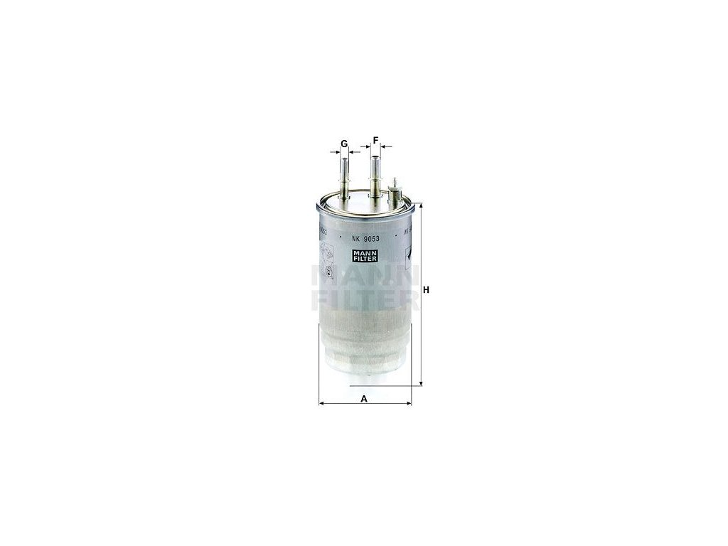 Palivový filtr MANN-FILTER WK 9053 z