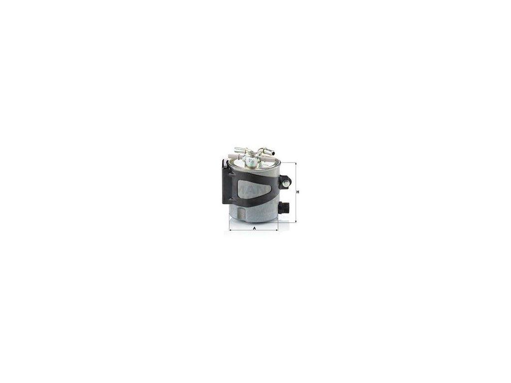 Palivový filtr MANN-FILTER WK 920/5