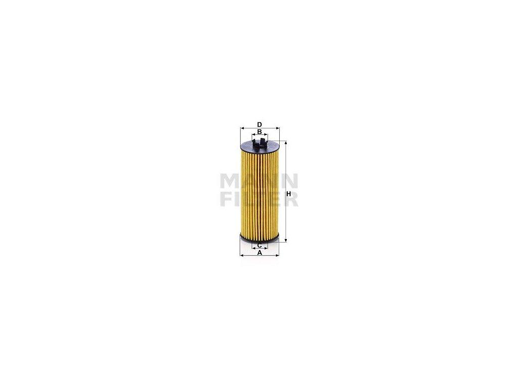 Olejový filtr MANN-FILTER HU 6009 z