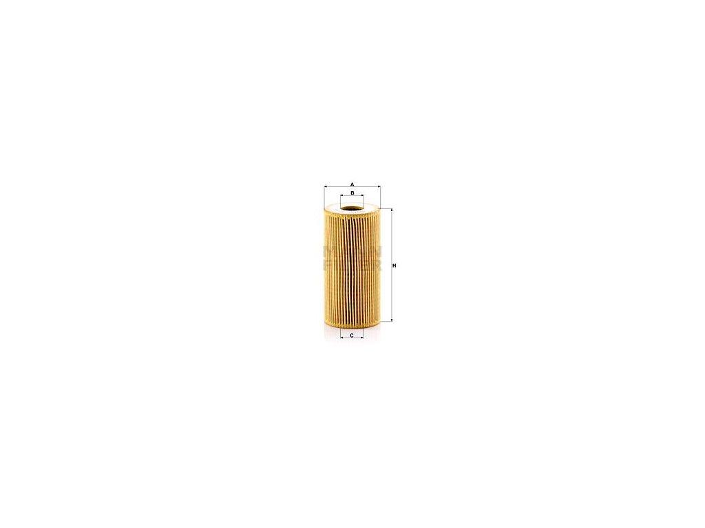 Olejový filtr MANN-FILTER HU 6011 z