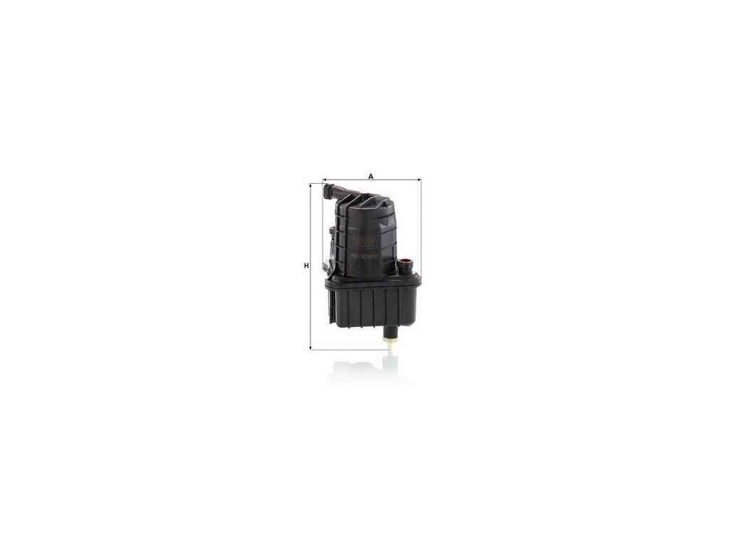 Palivový filtr MANN-FILTER WK 939/11 x