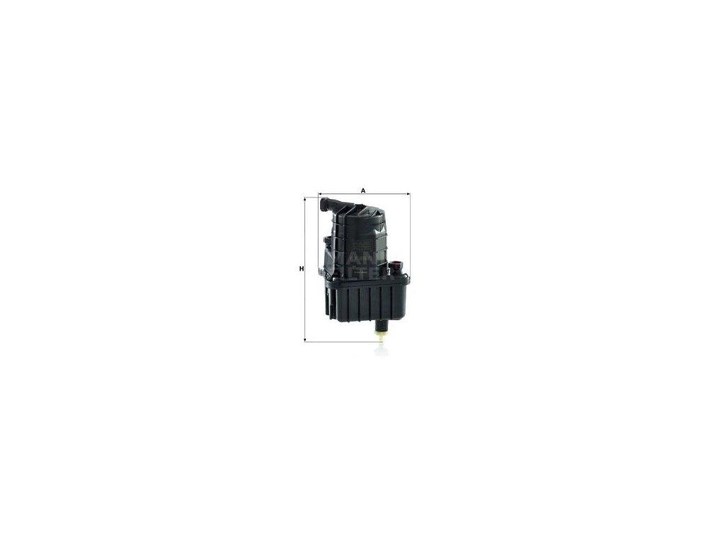 Palivový filtr MANN-FILTER WK 939/3