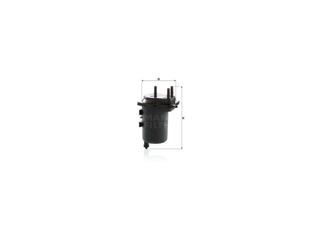 Palivový filtr MANN-FILTER WK 939/5