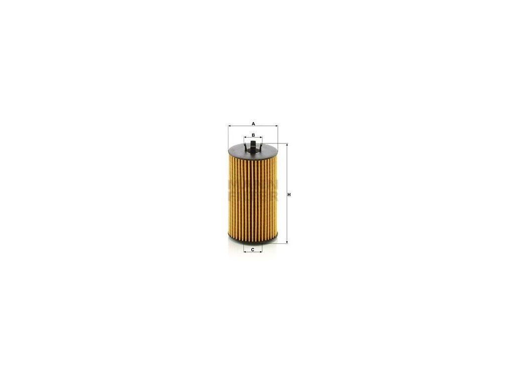 Olejový filtr MANN-FILTER HU 6019 z