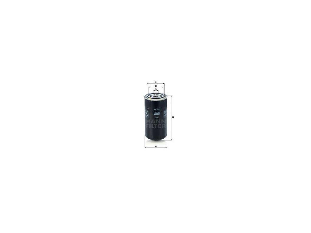 Palivový filtr MANN-FILTER WK 950/21