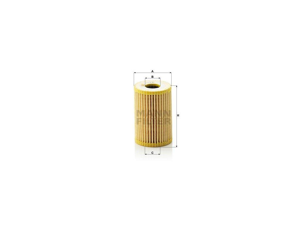 Olejový filtr MANN-FILTER HU 610 x