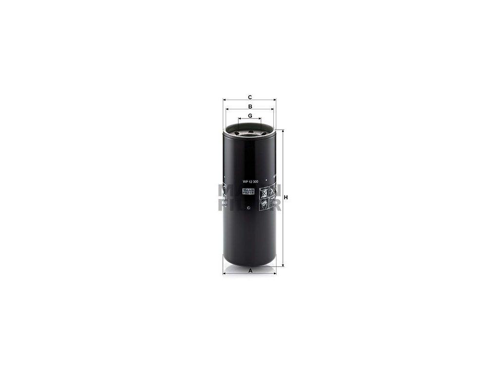 Olejový filtr MANN-FILTER WP 12 300