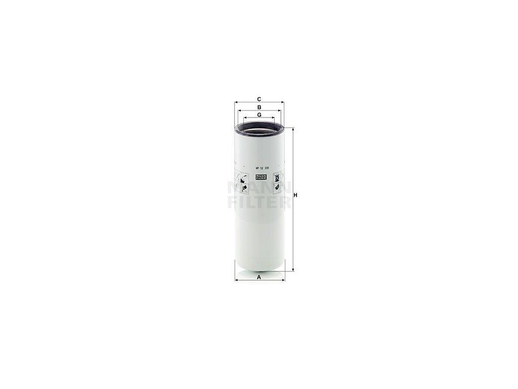 Olejový filtr MANN-FILTER WP 12 330