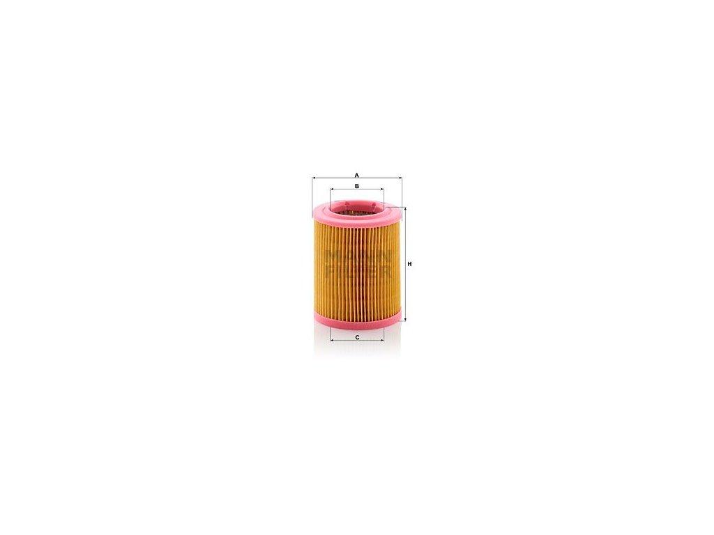 Vzduchový filtr MANN-FILTER C 1024