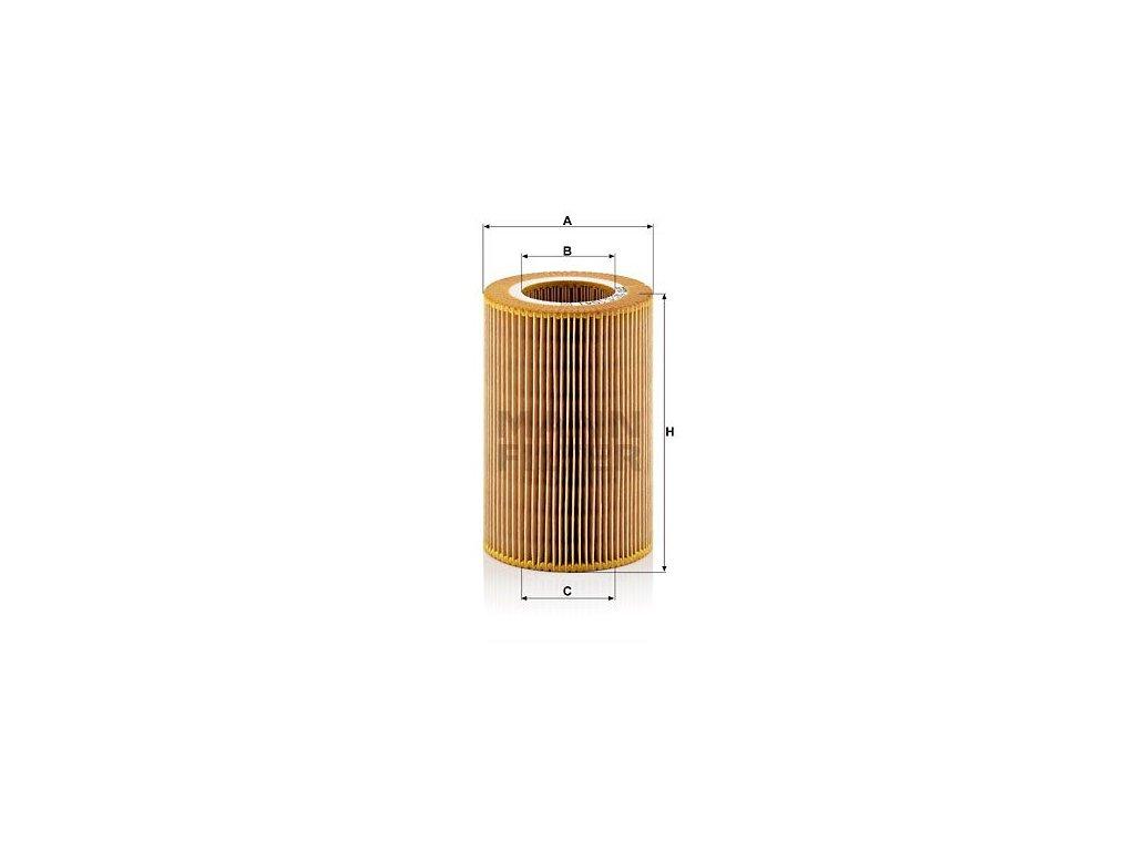 Vzduchový filtr MANN-FILTER C 1041