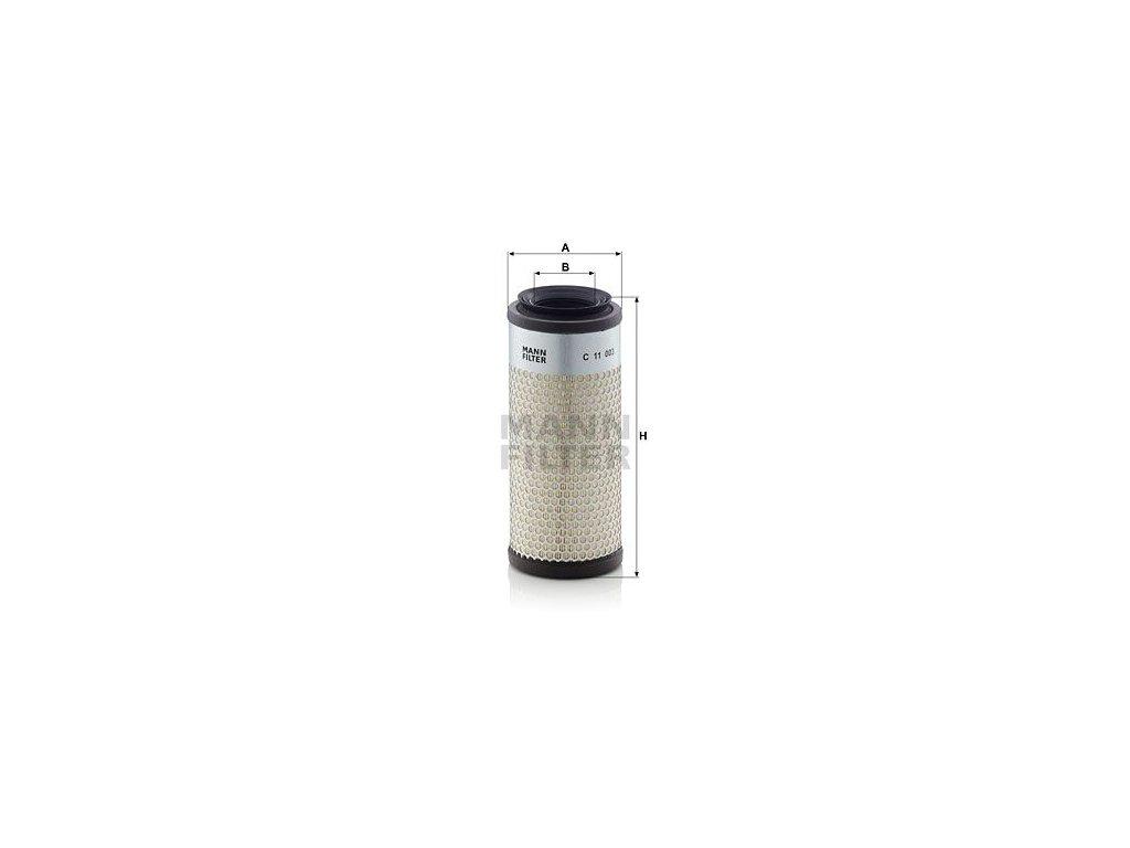 Vzduchový filtr MANN-FILTER C 11 003