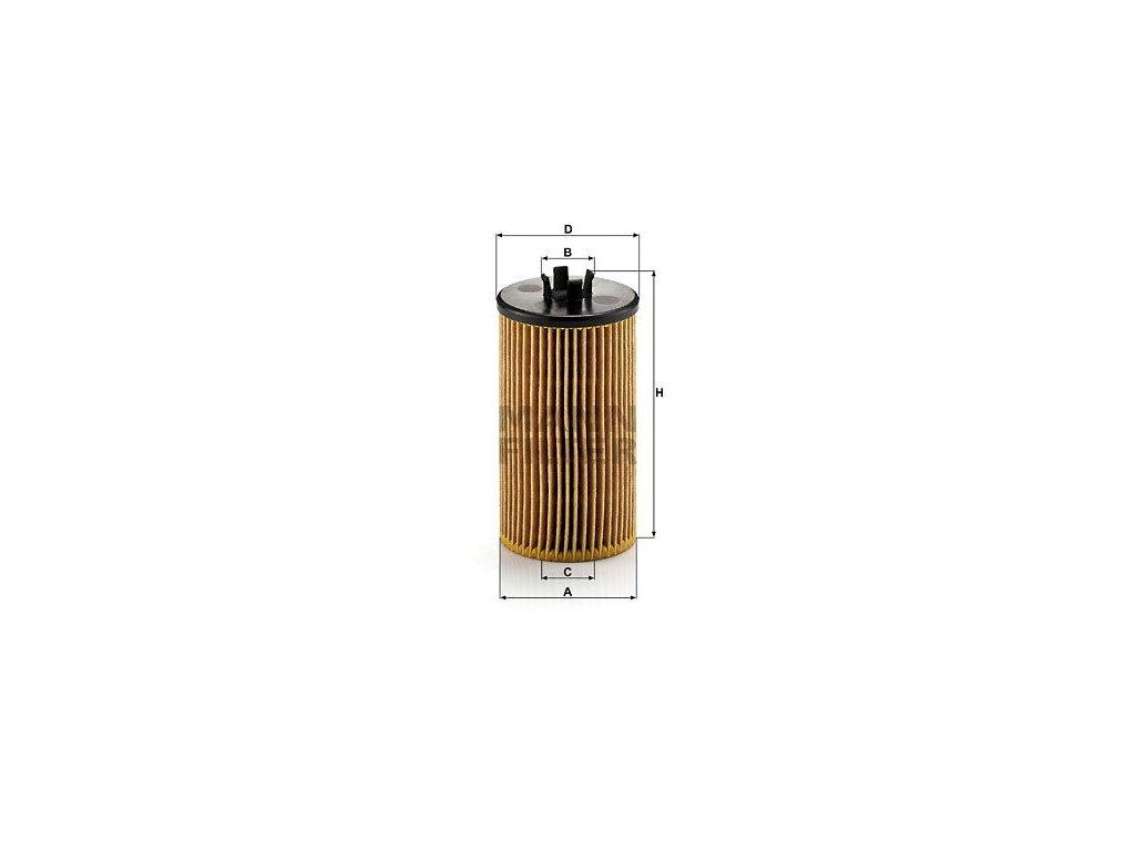 Olejový filtr MANN-FILTER HU 612/2 x