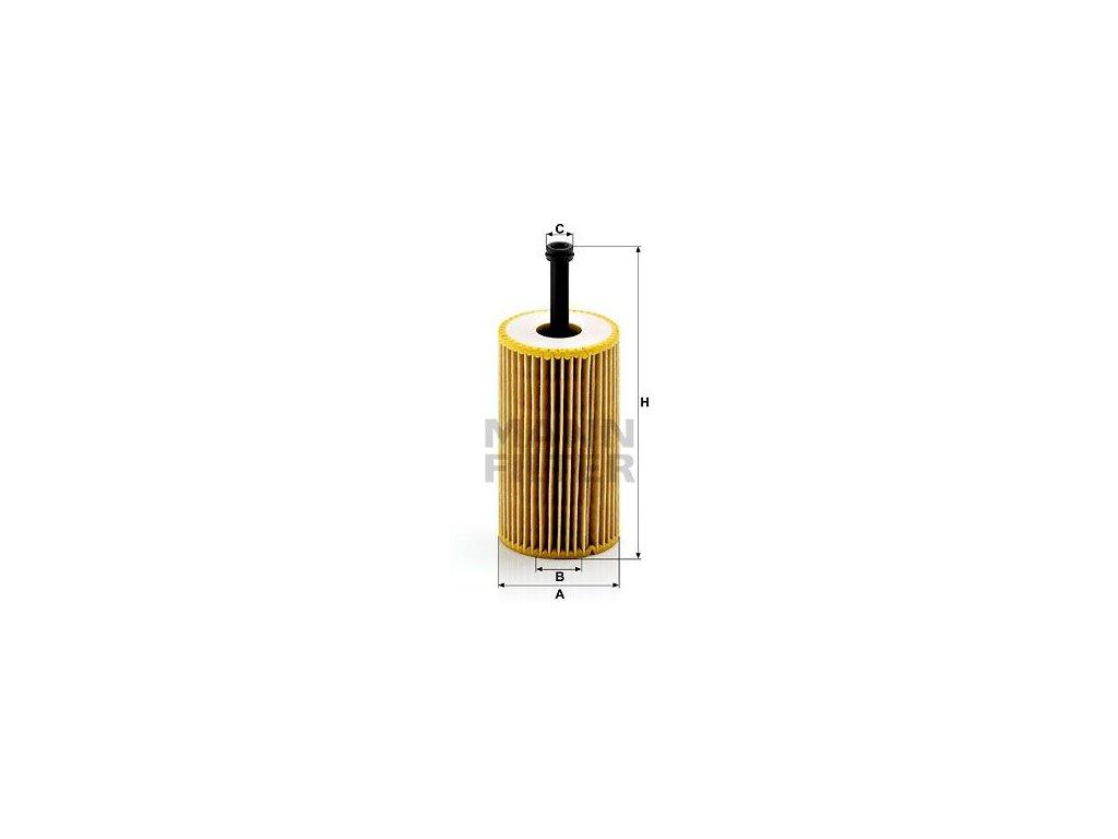 Olejový filtr MANN-FILTER HU 612 x