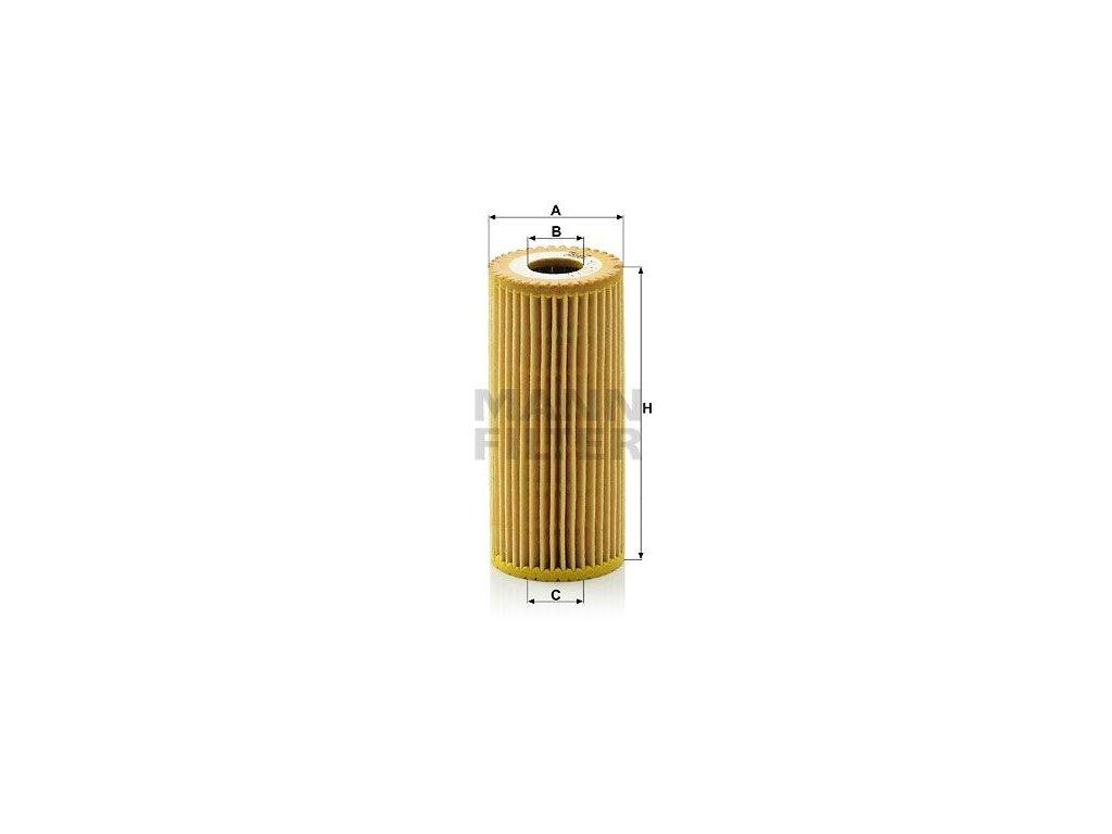Olejový filtr MANN-FILTER HU 615/3 x