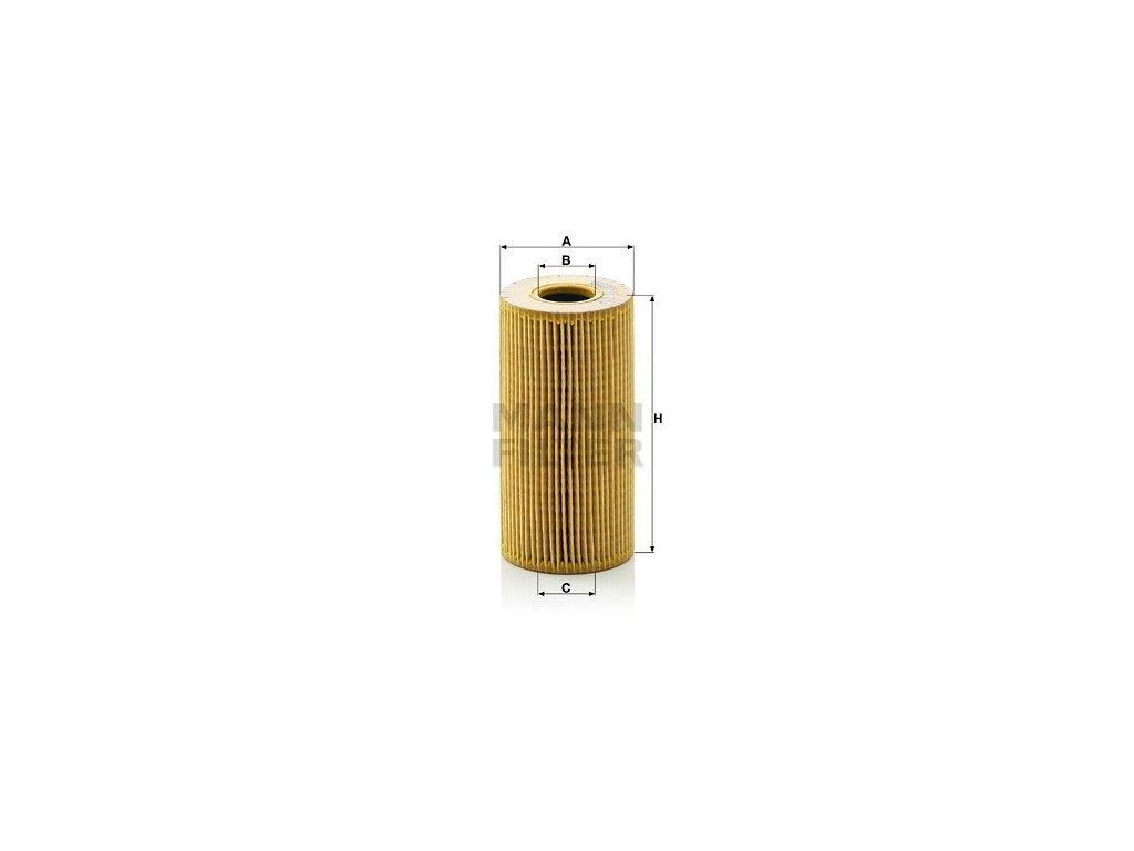 Olejový filtr MANN-FILTER HU 618 x