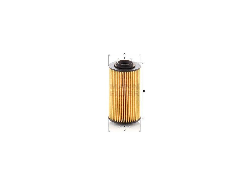 Olejový filtr MANN-FILTER HU 69/3 x